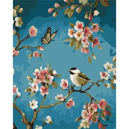 Good Paintings Australia - art oil Frameless Wall Decor Picture Diy By Numbers Hand Painted On Canvas Decoration Good luck birds art oil