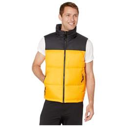Jacket Mens de Down Homens Mulheres Winter Brasão de alta qualidade Casual Coletes Mens de Down Casacos Tamanho S-XL em Promoção
