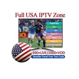 Großhandel IPTV-Abonnement 6000 + LIVE Skandinavisch Großbritannien Italien Frankreich IPTV für Andorid IOS-System Smart-TV-MAG-Box M3U Abonnement Iptv