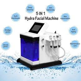 Spa head online shopping - Hot Hydrafacial dermabrasion machine Black head removal dermabrasion microdermabrasion hydro Bio lifting Spa Facial Machine skin tightening