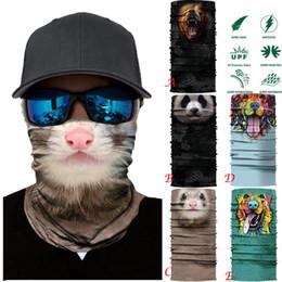 Lion masks online shopping - KLV Cycling animal lion Motorcycle Head Scarf Neck Warmer Face Mask Ski Balaclava Headband