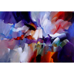 Expressions Painting Australia - flower art abstract paintings by Willem Haenraets Expression hand-painted home decor