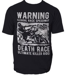 Race Tees Australia - Illegal Race Speedway t shirt motorcycle bike biker S-3XL Men Women Unisex Fashion tshirt Free Shipping Funny Cool Top Tee Black