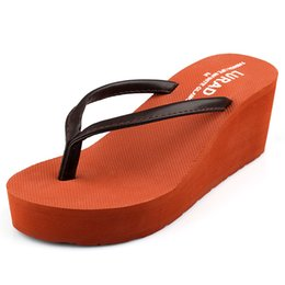 $enCountryForm.capitalKeyWord Australia - Summer Slippers Flip Flops Wedge High Heel for Fashion Ladies Women Girls Stars Love Style Vogue Slippers with High Quality