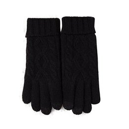 ceaf538fc New Arrival Womens Winter Warm Cozy Wool Knit Thick Fleece Lined Gloves  Mittens handschuhe damen #E30