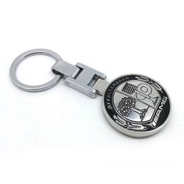$enCountryForm.capitalKeyWord Australia - Metal Mercedes Benz AMG Keychain Creative Accessories Auto Parts SUV Car Keyring YSS-0545