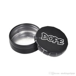 boxes for pills Australia - Protable newest metal tobacco storage box metal pill wax container for smoking oem logo