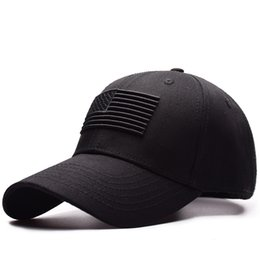 8d682472313 Flags Caps UK - 2019 USA Flag Baseball Caps Custom Logo Bone Cappello  America Man Cap