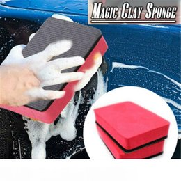 cleaning blocks Australia - 1PCS Magic Clay Sponge Bar Car Pad Block Cleaning Eraser Wax Polish Pad Tool 2020 NWE