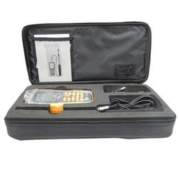 Digital Air Flow Meters NZ - Freeshipping GM8903 Hot Wire Digital Anemometer Wind Speed Air Flow Temperature Meter Measuring 0~30m s with USB Interface & Slim Sensor