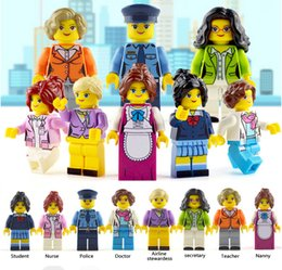 $enCountryForm.capitalKeyWord Australia - Compatible legoings Model building block City Worker teacher for girls friends Hospital House educational learning Toys