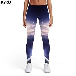 Xl Womens Leggings Australia - KYKU Brand Galaxy Leggings Women Vortex Spandex Space Leggins Nebula Elastic Sexy Ladies Womens Leggings Pants Casual Slim