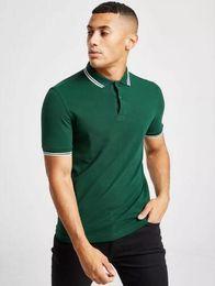 $enCountryForm.capitalKeyWord Australia - British Stripe Collar Polo Shirt Men Summer 2019 perry Twin Tipped Polos Short Sleeve Breathable Sport Casual Tees Shirts Tennis Homme White
