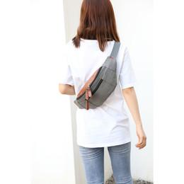 $enCountryForm.capitalKeyWord Australia - Korean Student Chest Bag Simple Single Shoulder Messenger Bag Fashion Sport Waist Pocket Small Phone Pouch Bolsos Mujer