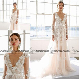 5fbe7ccfae5d4d Gold marchesa dress online shopping - Marchesa Bridal Spring A Line Wedding  Dresses with Floral Applications