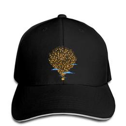 Lighting ideas online shopping - Baseball Cap Light Bulbs Idea Bright Balloon Printed Casual Cool Man hat