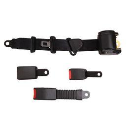 Vehicle Safety Australia - Universal Car Truck Vehicle Safety Seat Belt 3 Point Safety Lap Seat Straps Car Accessories