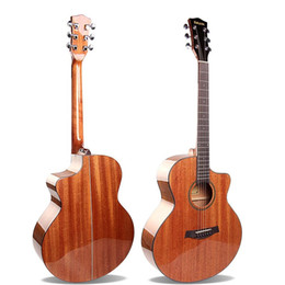 "Guitar Acoustic Tone NZ - Wholesale 41"" Acoustic Guitar Mahogany Top,Folk Guitar, Mellow Tone"