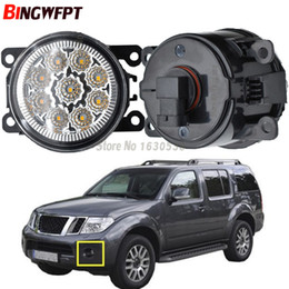 $enCountryForm.capitalKeyWord Australia - Car Styling 6000K White 10W CCC High Power LED Fog Lamps DRL Lights For NISSAN Navara D40 Note E11 Pathfinder R51 Pixo UA0