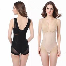 b98bf09d4 Women Body Shaper Shapewear Tummy Suits Control Underbust Ladies Slimming  Burn Fat Briefs Seamless Underwear Vest Bodysuits Corset CNY886