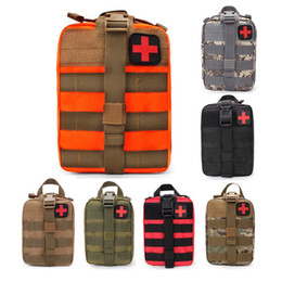 Tactical First Aid Kit Empty Bag EMT Medical Emergency Pouch Molle compact IFAK Universal Pouch for Home Outdoor Climbing Hiking on Sale