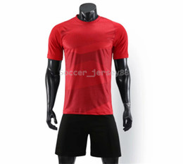 football club sale UK - New arrive Blank soccer jersey #905#-6 customize Hot Sale Quick Drying T-shirt Club or Team jersey Contact me uniforms football shirts