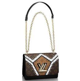 $enCountryForm.capitalKeyWord UK - 2019 M44214 Twist Mm Fashion Chain Shoulder Bags Hobo Handbags Top Handles Boston Cross Body Messenger Shoulder Bags