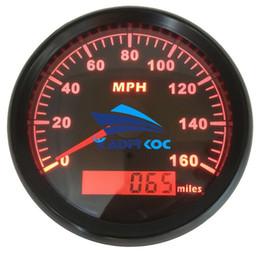 Lot de 1 Compteurs de vitesse GPS Miles 0-160MPH Miles Kilomètres de vitesse LCD 85mm en Solde