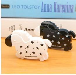 Horse Stationery Australia - Kawaii Cute Black White Horse Correction Tape Correction Fluid Stationery Student Gift School Supplies