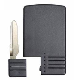 $enCountryForm.capitalKeyWord Australia - 3Button Replacement Smart Card Remote Key Shell Case FOB UNCUT KEY FOR Mazda 5 6 CX-7 CX-9 RX8 Miata MX5