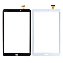 Lcd paneL repLacement for tabLet online shopping - 10Pcs For Samsung Galaxy Tab A T580 T585 Touch Screen Digitizer Panel Glass Lens T580 LCD Front Sensor Replacement
