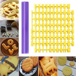 $enCountryForm.capitalKeyWord Australia - DIY Letter Plastic Pastry Tools Cake Mold Alphabet Cake Mould Cookie Fondant Cutter Biscuit Cutter Press Stamp Embosser Mold