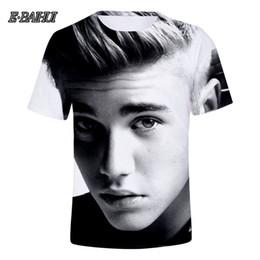 $enCountryForm.capitalKeyWord NZ - E-BAIHUI Famous Star Justin Bieber 3D T-shirt Men Women Tshirt 3D Print Idol Tees Tops Cool Shirts Top Clothes Q0248