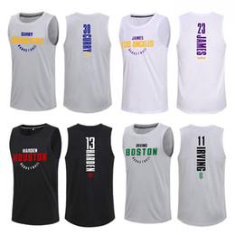 Опт Баскетбол Vest Вентиляторы трикотажные изделия Спортивные футболки без рукавов Tee Спортзалы Одежда Обучение форменная Quick Dry Sportwear Беговая Tops для мужчин