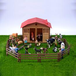 $enCountryForm.capitalKeyWord Australia - Original Genuine Farm House Animals Sets Pets Dogs Horses Pony Cows Sheeps Chicken Hen Cat Goose Kids Learning Toy Children Gift