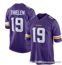 d8c6dd20b Mens Vikings 19 Adam Thielen Jersey Minnesota Vikings 8 Kirk Cousins 33  Dalvin Cook 22 HARRISON SMITH 14 Stefon Diggs Football Jerseys