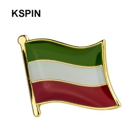 Apparel Sewing & Fabric Australia Ireland Friendship Flag Label Pin Metal Badge Badges Icon Bag Decoration Buttons Brooch For Clothes 1pc