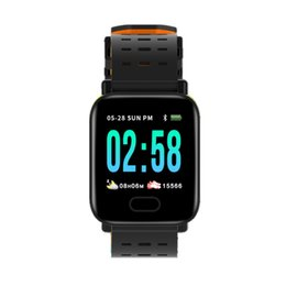 Smart Watch Спорт Фитнес-активность Трекер сердечного ритма IP67 Водонепроницаемый Шагомер SmartWatch ремешок для часов для IOS Android на Распродаже