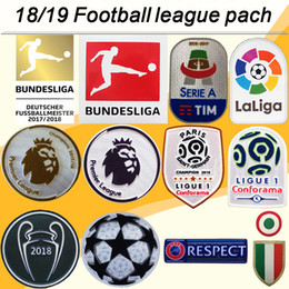 f60e507009 Discount serie a patches - 18 19 Premier League Serie A Bundesliga Soccer  Jerseys patches Ligue