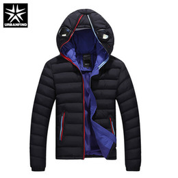 $enCountryForm.capitalKeyWord NZ - URBANFIND Winter Jackets Men Parkas with Eyes Padded Hooded Coat Mens Warm Camperas Children Windproof Quilted Jacket