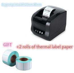 Discount high quality bluetooth - Barcode label printers 100% New quality original High clothing label printer Support 80mm printing USB or Bluetooth inte