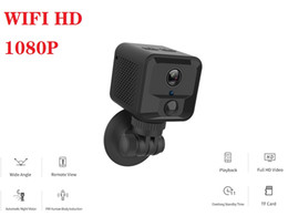 mini ip camera wifi UK - S9 Wireless wifi Mini camera HD 1080P Wearable mini boby camera with IR night vision Home security surveillance IP camcorder