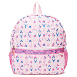 Man tents online shopping - Gabigaba Toddler Backpack Pink Tent Quilted School Bag kids Navy Aztec Book Bag for girl boy Good Quality with Mesh Pockets GB001