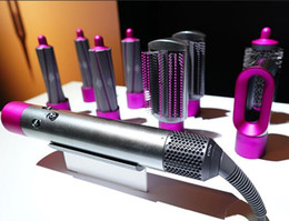 $enCountryForm.capitalKeyWord Australia - Original DysonAirwrap Complete Styler Hair Styling Set Pre Styling Dryer 4 Curling Barrels 2 Smoothing Brushes Volumizing Brush Outlet