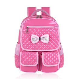 Discount korean style girl backpack - 2019 new pu leather pink backpack girls school bags children backapcks for teenage girls korean style light blue student