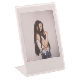 $enCountryForm.capitalKeyWord UK - Acrylic Photo Frame for Mini Instax Film Paper 3 Inch Photo Picture Frame Frames L Crystal Transparent