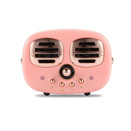 $enCountryForm.capitalKeyWord UK - Cute Bluetooth Speakers Portable Wireless Subwoofer Retro Radio Loudspeaker Handsfree Stereo TF AUX Music Box for iPhone 9 2019 Xmas Gift 9