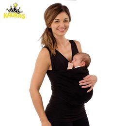 a4609b12 Kavkas Family Baby Carrier Clothing Kangaroo T-shirt For Father Mother With  Baby Short Sleeve Big Pocket Tops Maternity Clothes Y19052003
