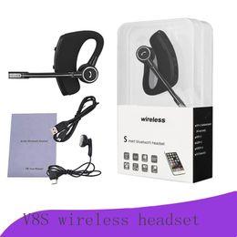 $enCountryForm.capitalKeyWord NZ - V8 V8S Bluetooth Headphones Wireless Headset Handsfree Bluetooth Earphones V4.1 Legend Stereo Wireless Earbuds For iPhone Samsung In Package