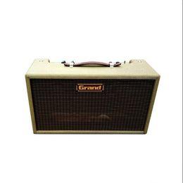 Ingrosso Amplificatore per chitarra del serbatoio dell'unità del grande amplificatore dell'unità di riverbero dell'unità di riverbero con dimora della griglia di tweed, mescolare, controllo del tono